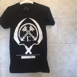 Civil x Rook black t-shirt